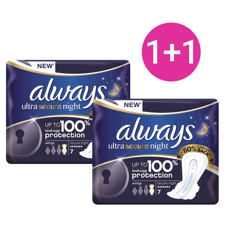 Always Πακέτο Προσφοράς Ultra Secure Night Έως 100