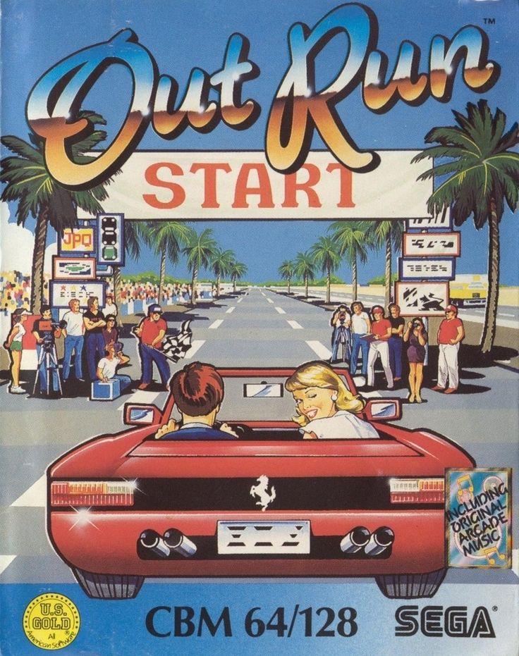 Simplemente Out Run - Commodore 64. Que más decir de este juego