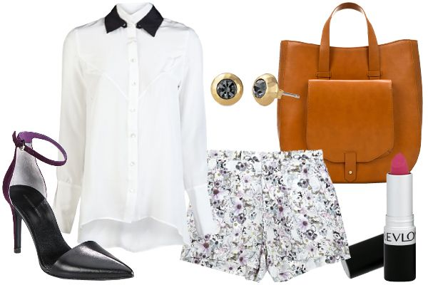 How to wear shorts to work without looking like you forgot your bottom halfWear Shorts, Classy Shorts, Short Shorts, Fashion Photos, Dresses Shorts, Printed Shorts, Patterned Shorts, Prints Shorts, Pattern Shorts