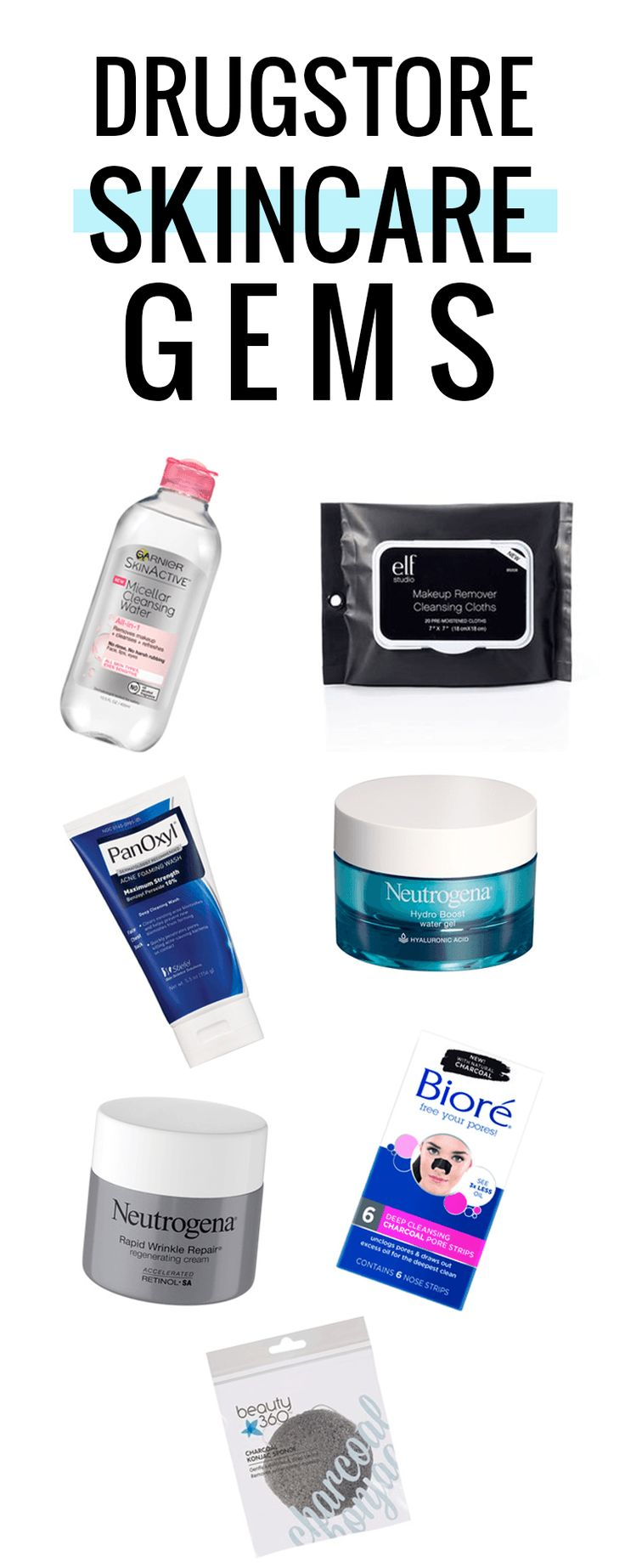 Some of the best drugstore skincare products! I got these at @CVSPharmacy #ad