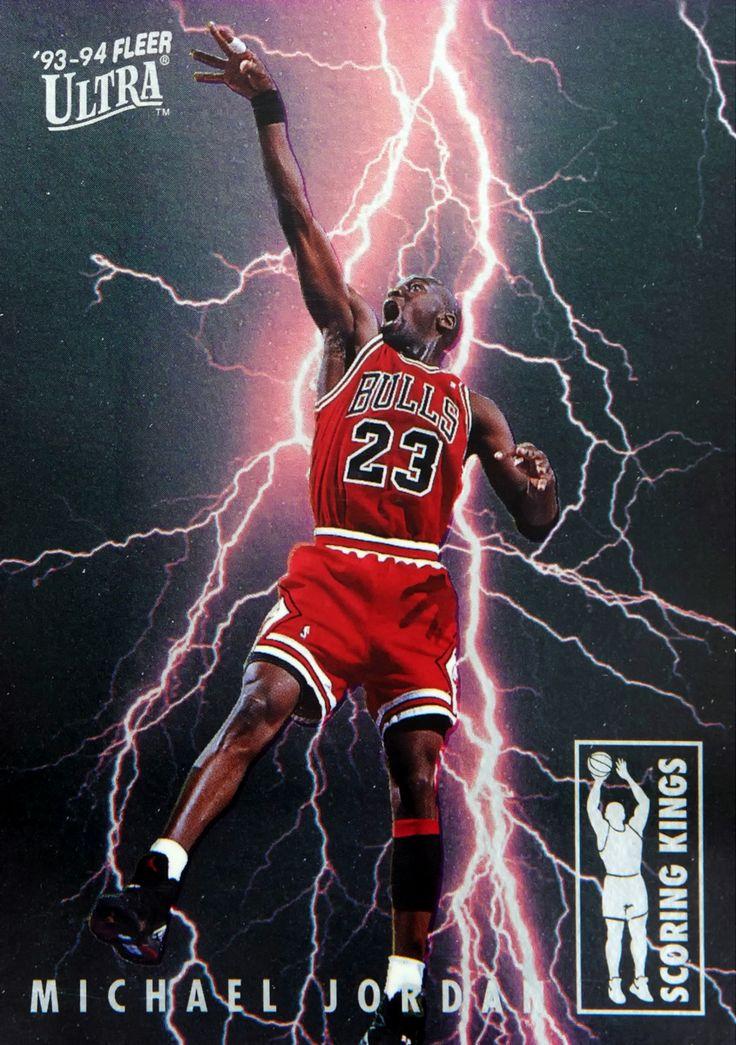 Jordan '93-94 Fleer Ultra Scoring Kings
