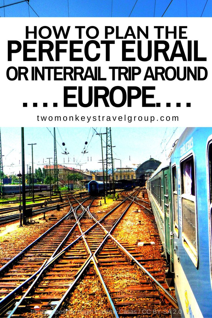 How to Plan the Perfect Eurail or Interrail Trip Around Europe. Most people gets confused on what type of ticket you should use for this massive adventure trip of a lifetime. Interrail or Eurail are easy to do once you understand and know what you want to do for this journey.    Eurail is for non- European citizen and/or non-EU residents.    Interrail is for European citizen and/or EU residents with Non- EU passports (Proof of residency required).