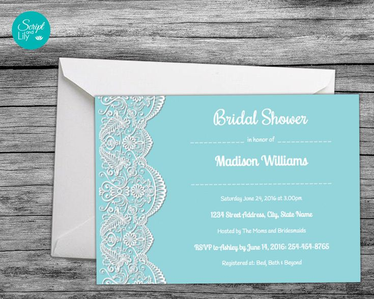 "Excited to share the latest addition to my #etsy shop: Lace Bridal Shower Invitation | *FREE Color Change | DIY | Downloadable | Edit Text | Turquoise Blue | Word or Pages Pc & Mac | 5"" x 7"" http://etsy.me/2CsgoWb #weddings #invitation #lacebridalinvite #aqualaceinvita"