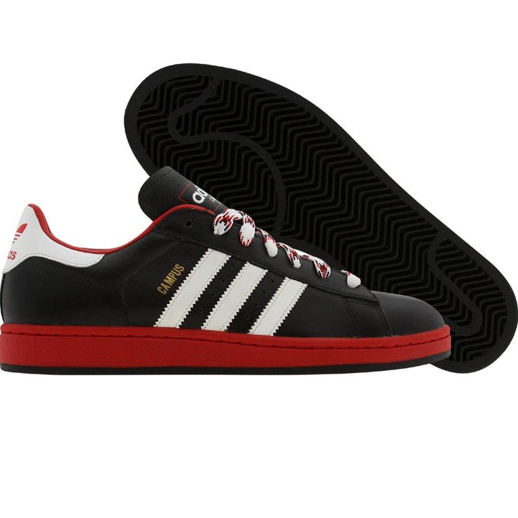 Adidas Campus 2 (black1 / white / lgtsca) 016877 - $69.99