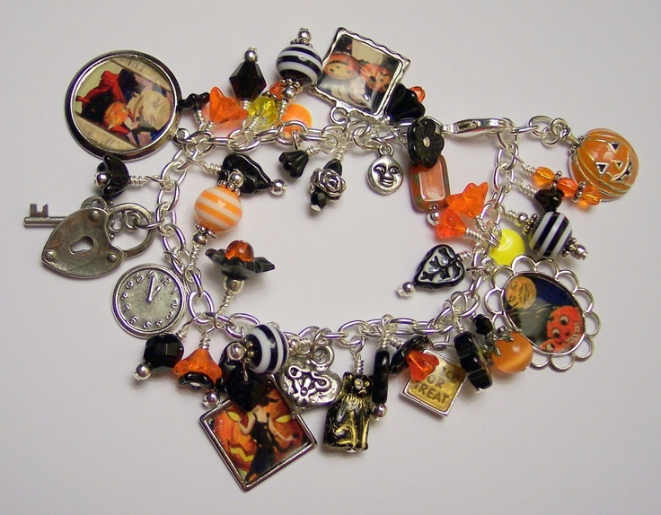 144 best Halloween Jewelry images on Pinterest | Diy jewelry ...
