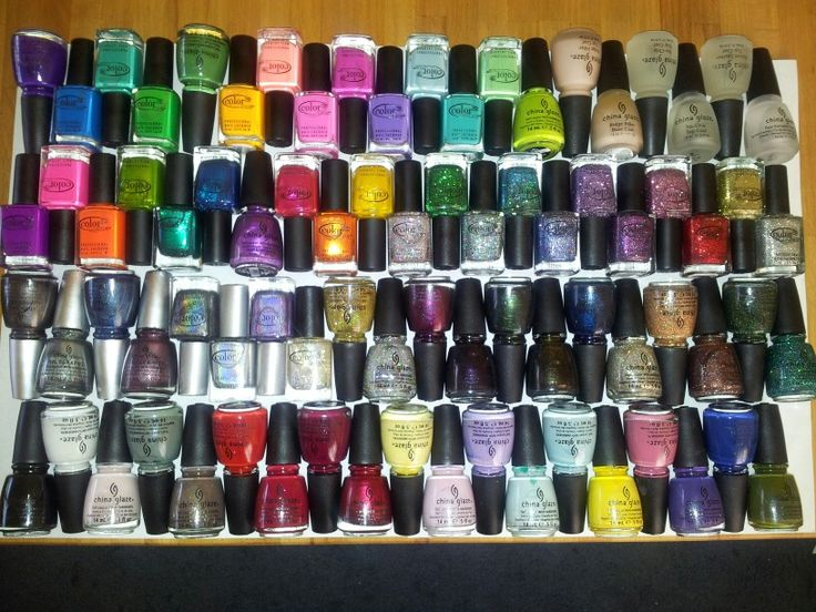Complete nail polish order