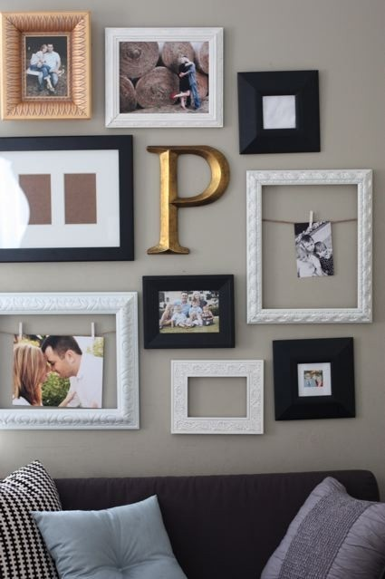 Best 25 clothespin picture frames ideas on pinterest for Bedroom wall frames