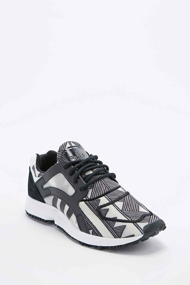 Shop adidas Farm Racer Lite Trainers in Black and White at Urban Outfitters  today. We carry all the latest styles, colours and brands for you to choose  from ...