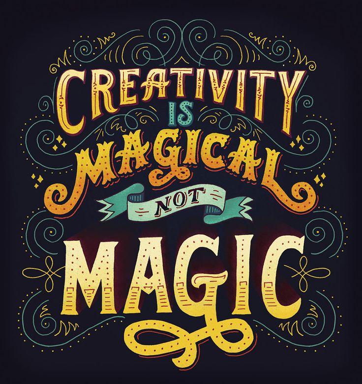 Creativity is not a magic #inspiration #motivation  http://www.keypcreative.com/