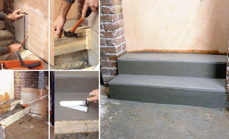 29 best MAISON images on Pinterest Country homes, Exterior homes - couler une terrasse en beton
