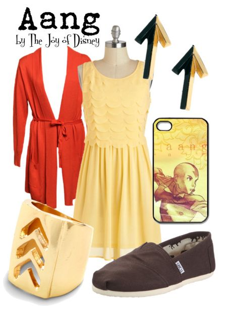 fashion inspired by avatar the last airbender | The Joy of Disney: Aang (Avatar: The Last Airbender)