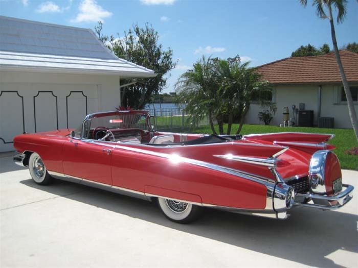 1959 Cadillac Eldorado Biarritz Convertible ... Big Red Boat on Wheels
