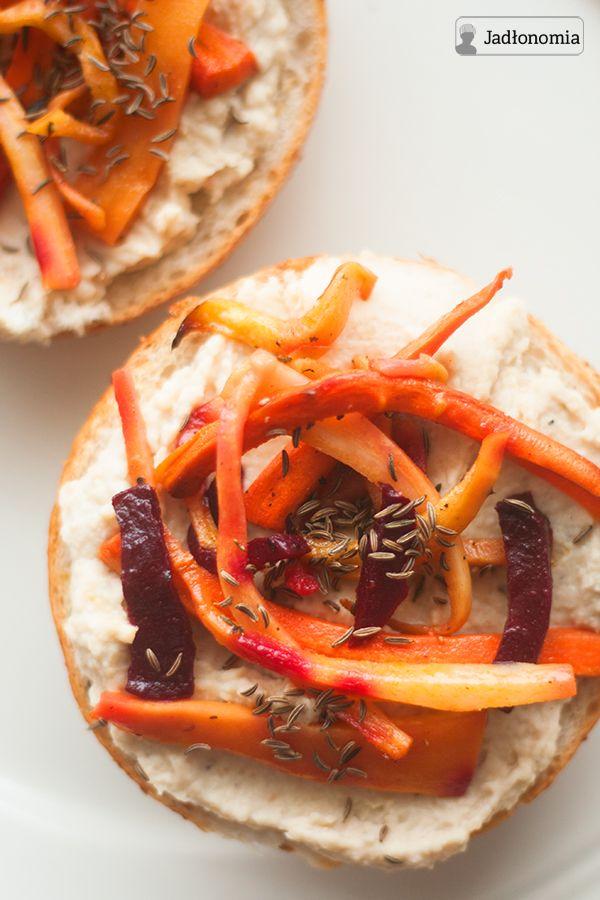 jadłonomia • roślinne przepisy: Zimowa wegańska kanapka idealna