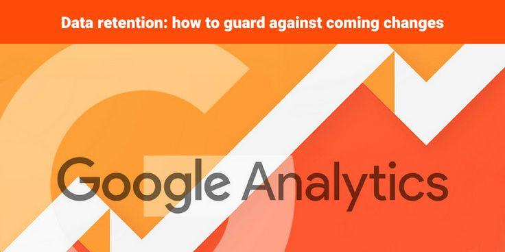 how to change data rention google analytics