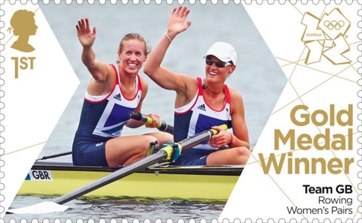Helen Glover & Heather Stanning Rowing Women's Pairs