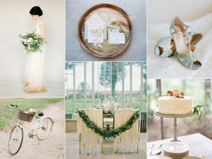 Minty Green Spring Wedding