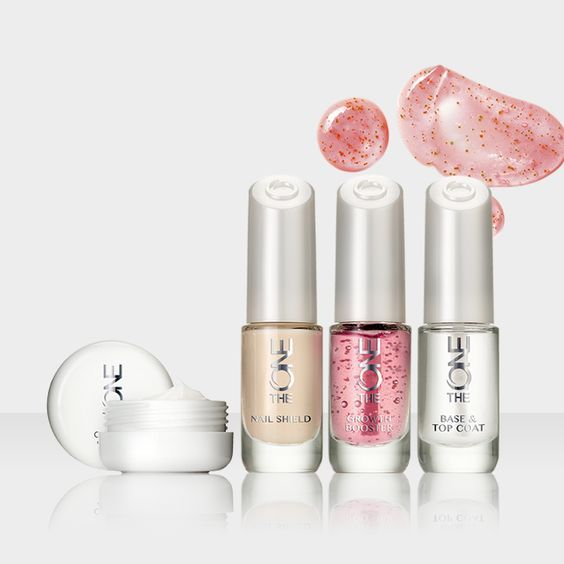 Introducing the Clear Base & Top Coat, Nail Shield, Cuticle Cream and Growth Booster from The ONE Long Wear range.
