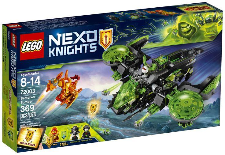 LEGO Nexo Knights 72003 : Berserker Bomber