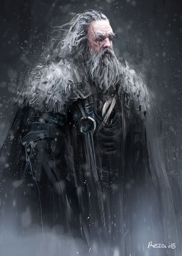 Old Warrior by Reza-Afshar-Art on DeviantArt