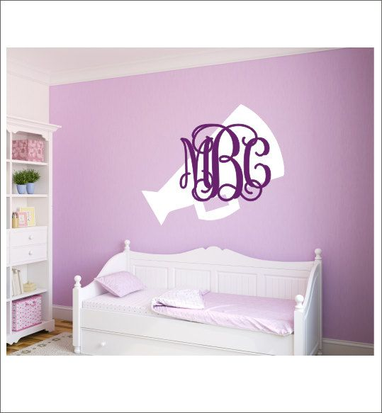 Cheerleader Wall Decal Megaphone Decal by CustomVinylbyBridge