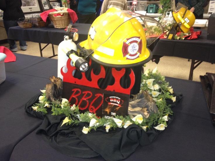 Firemans ball catering job a centerpiece for the buffet