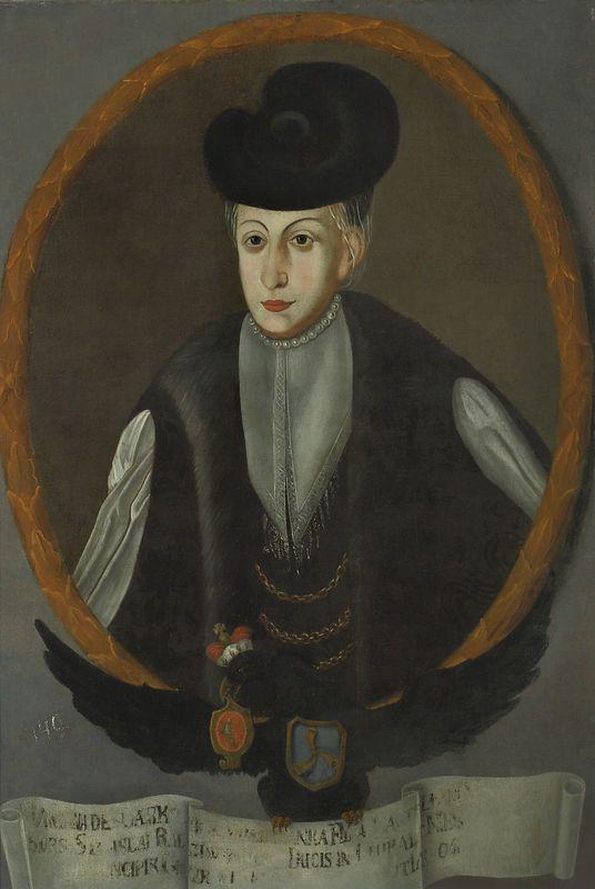 Portret Marianny z Myszków Radziwiłłowej (1563-1600)  Datowanie zabytku: 1733-37  Autor - malarz: nieznany malarz polski