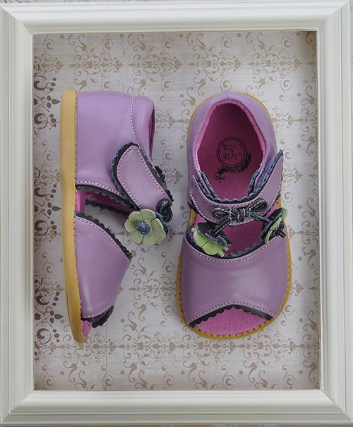 Livie and Luca Merry Bell Lavender Girls Shoes $52.00