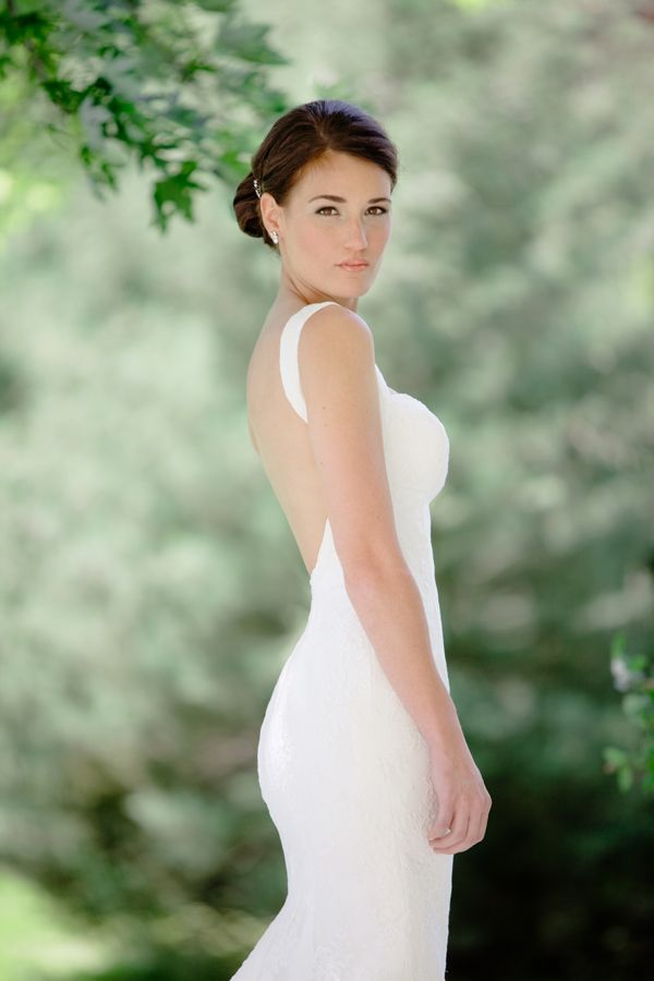 chic Southern bride   Leslee Mitchell