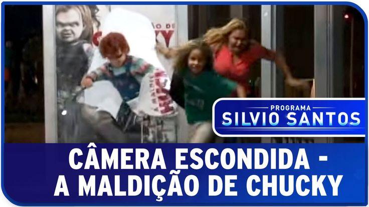 A Maldição de Chucky - Susto no ponto de ônibus - Câmera Escondida Progr...