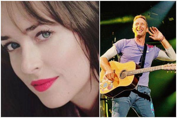 Aseguran que Dakota Johnson tiene un romance con el vocalista de Coldplay