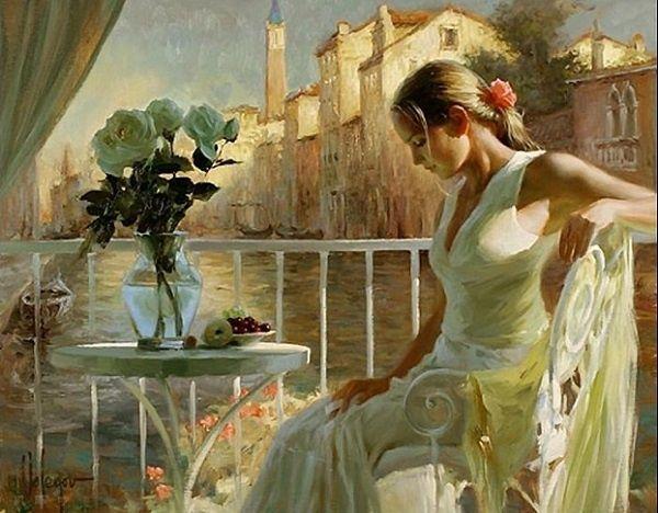 Vladimir Volegov Le peintre Vladimir Volegov est né à Chabarowsk en Russie. Il commence à peindre très jeune et son talent s'épanouit dès l'adolescence. Dans l'ancienne Union Soviétique, il fréquente l'école d'art Krivoj Rog et l'Institut polygraphique...