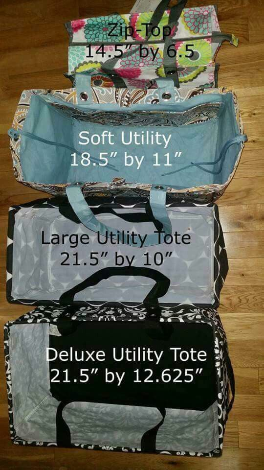 Size comparison of our utility line www.mythirtyone.com/rpugh