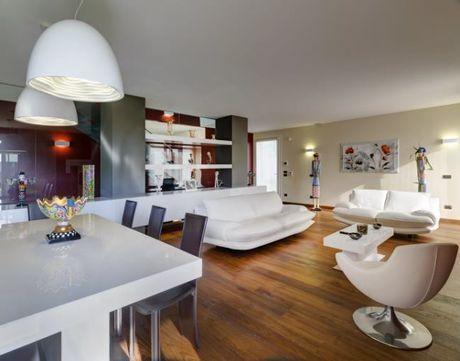 Architettura residenziale nel parco   Progettare: parquet Berti