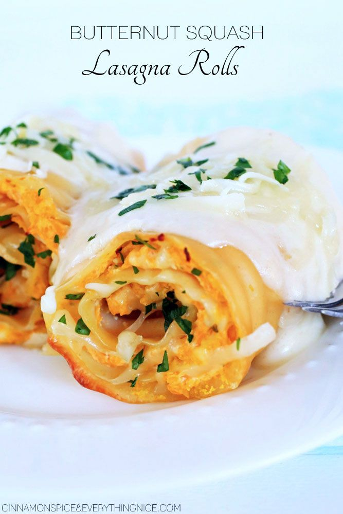 De 20+ bedste idéer inden for Butternut squash lasagna på ...
