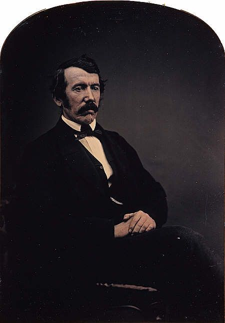 David Livingstone (1813-1873) Missionary and explorer, c1858
