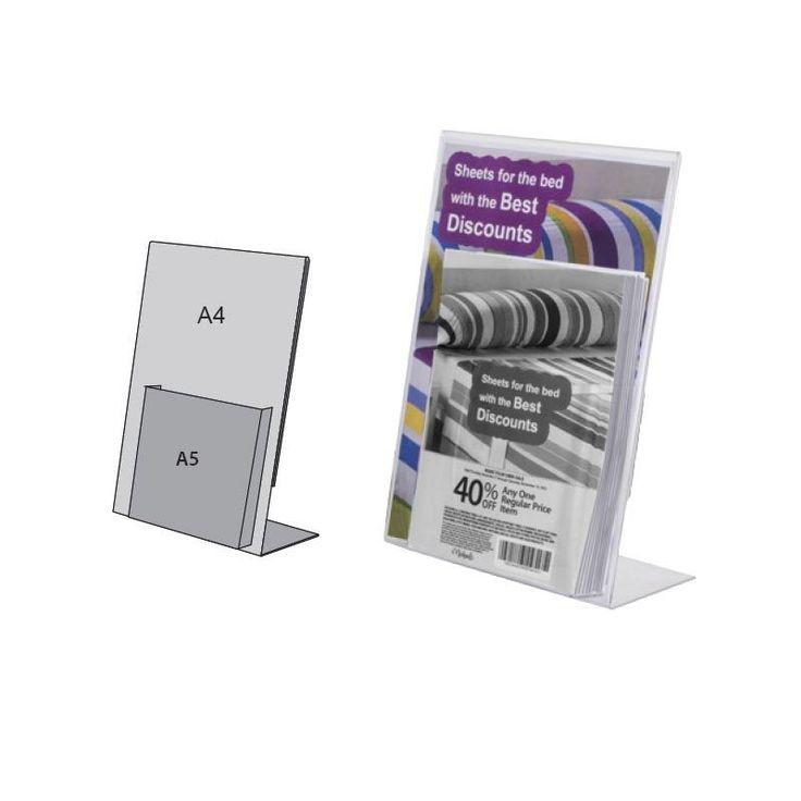Display dispensador A4 con cajetín A5 (5 unidades) https://doncarteltienda.es/producto/display-publicitario-con-dispensador/