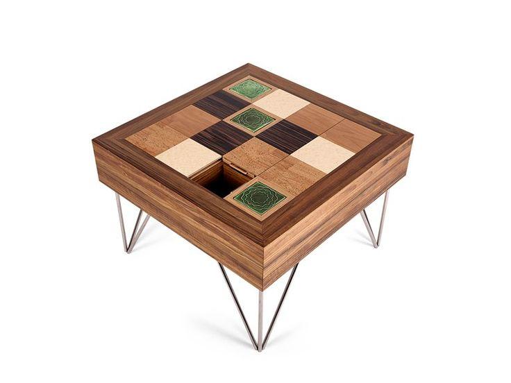 Square coffee table PUZZLE by GOTO Design