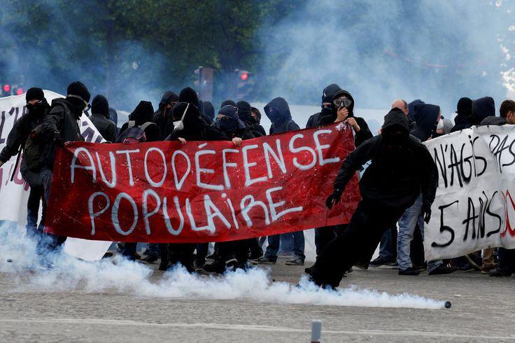 Manifestation 1er mai Paris 8