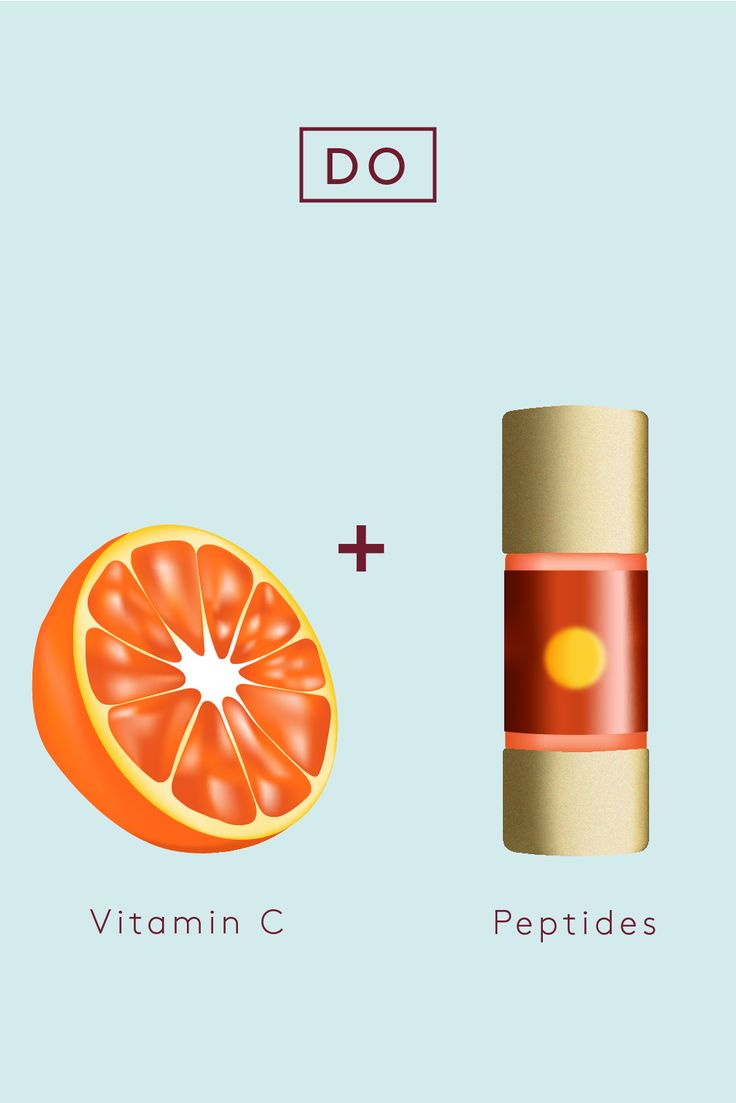 Cocktail Your Way To The Perfect Skin-Care Regimen #refinery29 www.refinery29.co… Do: Vitamin C PeptidesThink of peptides as batteries that energize and super-charge certain ingredients to do a more effective job. Infuse your night cream or moisturizer with an extra dose of peptides by adding a couple drops of the Clarins Booster Energy. Then, follow …
