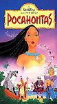 Disney Pocahontas Like New VHS Prerecorded Family Movie in Orig Box
