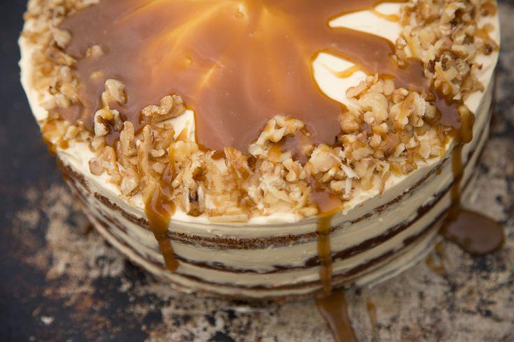 Hummingbird Cake With Salted Caramel THE BOX - Ripe Recipes