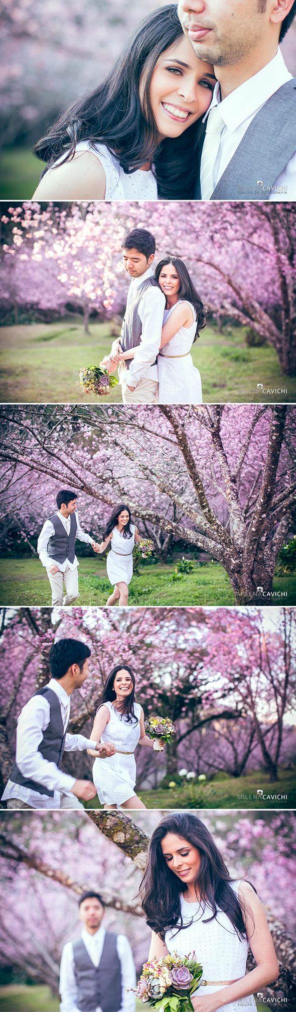 Ensaios | Pré-Wedding Cerejeiras | Les Divas