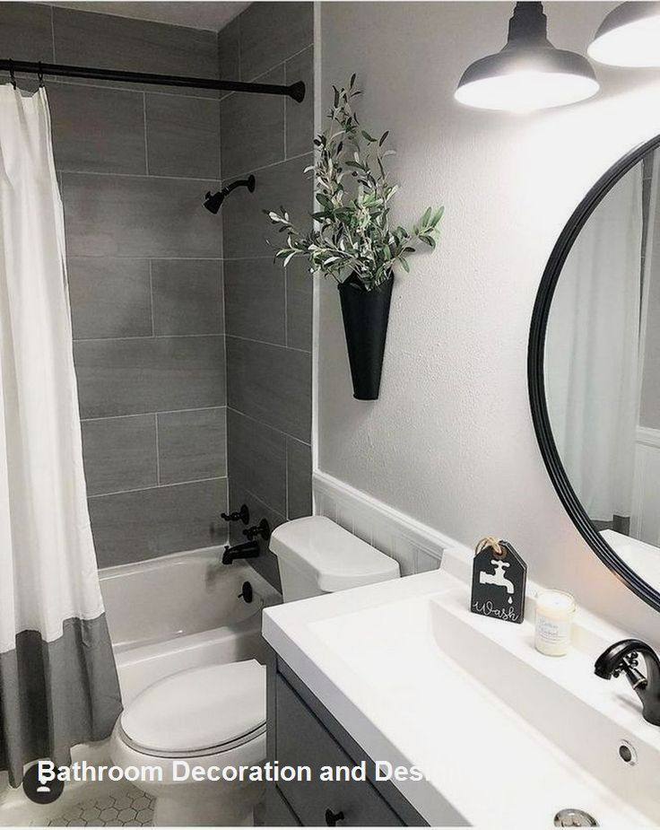 New Bathroom Design Ideas Small Bathroom Interior Small Bathroom Decor Small Bathroom Remodel Small white bathroom design ideas