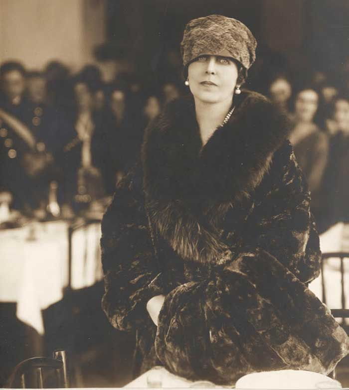 Queen Marie of Romania. Early 1920s.