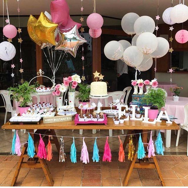 Apaixonada por essa decoração feita pela mamãe  Brilha, brilha estrelinha  doces @laspitangas Via @laspitangas . . #decorefesta #blogdecorefesta #ideias #inspiração #instadaily #instamood #instafood #instagood #picoftheday #birthday #birthdayparty #party #partykids #kids #kidsparty #festa #festainfantil #festademenina #deco #decor #decoração #decoraçãodefesta #design