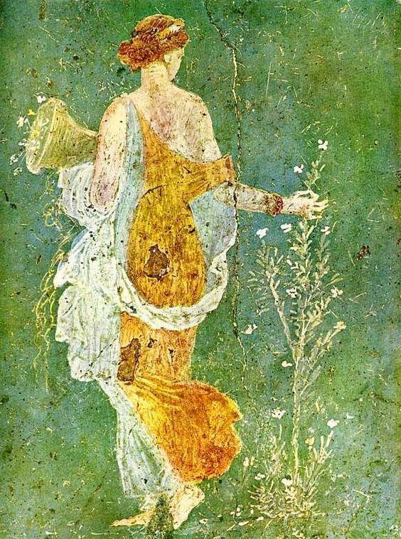 100 best Roman art Roman frescoes Pompeii frescoes wall paintings ...