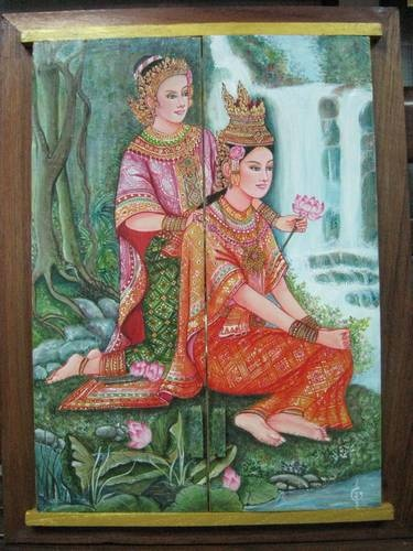 1000 Images About Traditional Thai Art On Pinterest