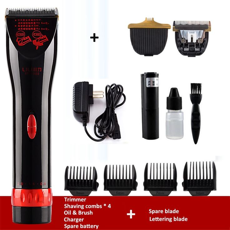 (37.96$)  Watch here - http://aif2r.worlditems.win/all/product.php?id=32783675380 - Brand Professional Electric Clippers Rechargeable Lettering Carving Hair Trimmer for Men Child Barber Salon Hair Cutting Machine