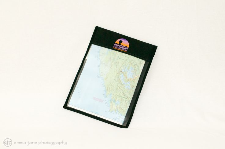 Heavy duty document holder with clear PVC front.