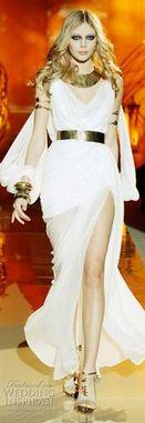 8. Zuhair Murad Spring/Summer 2011 -Inspired by Egyptian Kalasiris